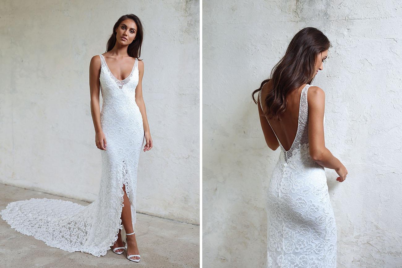 White Hawaiian Wedding Dresses 57 Fancy The Brand New Gia