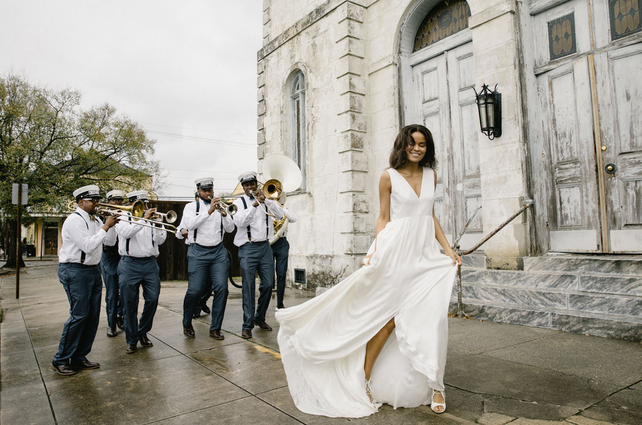 Alexandra Grecco Wedding Gowns Captured in New Orleans
