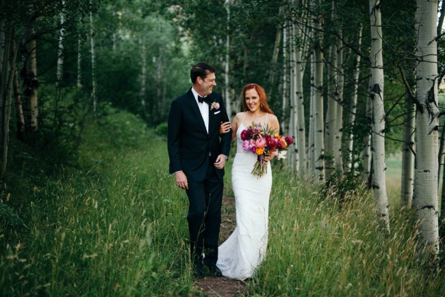 Boho Glam Aspen Wedding
