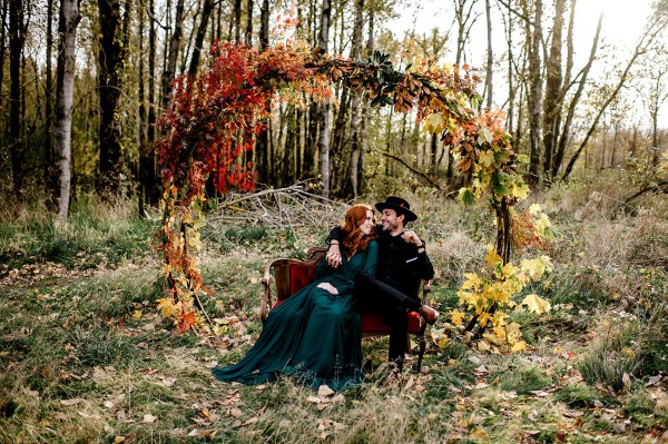 Wild Free Autumn Elopement Inspiration - Green Wedding Shoes