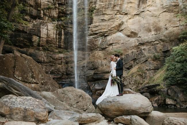 Georgia Waterfall Wedding
