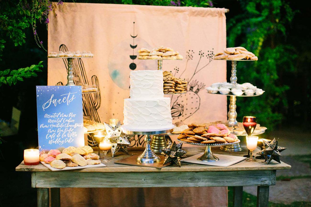 Celestial Inspired Desert Wedding With Spanish Details