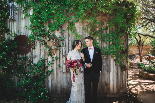 Dark Romance Austin Wedding