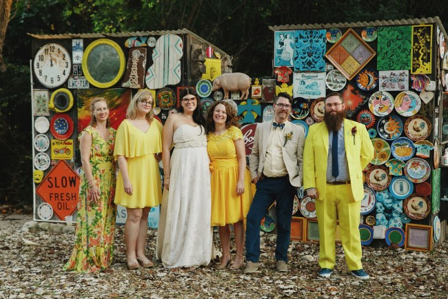 Colorful Austin Wedding