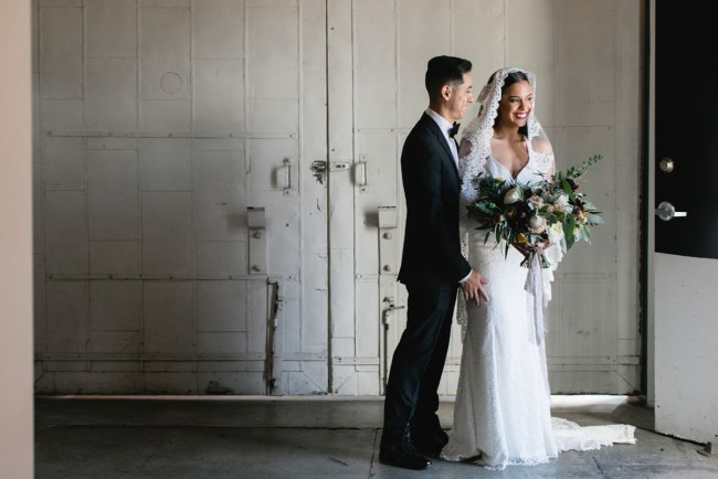 Stylish Downtown LA Wedding