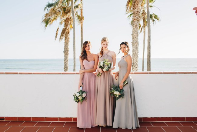 39d2a123540 Bridesmaids Dresses + Bouquet Inspiration from The Wedding Suite at ...