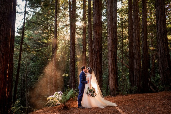 Magical Woodland Sequoia Wedding