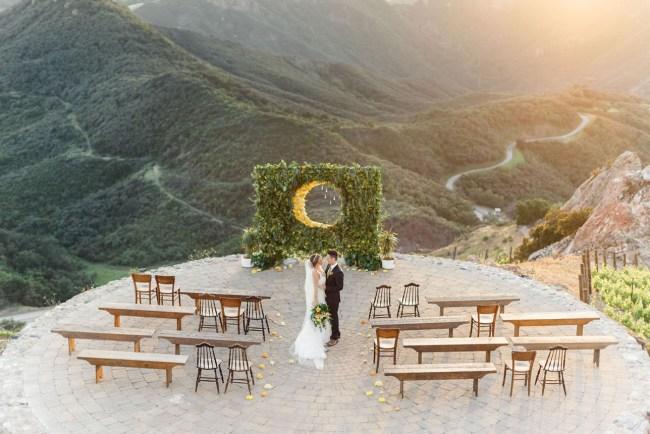 Over the Moon Wedding Inspiration