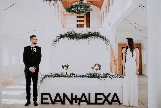 Modern Minimal Ohio Wedding