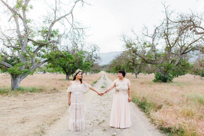 Indie Inspired Ojai Wedding