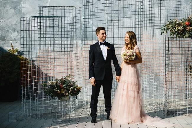 Modern Moscow Wedding