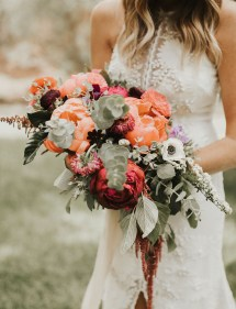 Barefoot Bohemian Wedding In Mountains Of Colorado