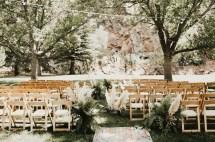Barefoot Bohemian Wedding In Mountains Of Colorado