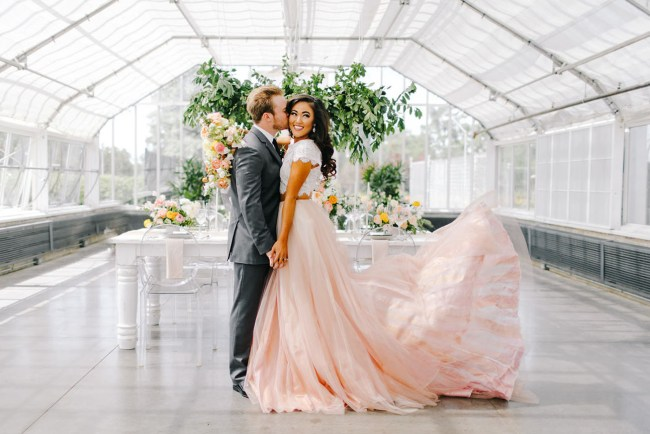 Modern Romance Wedding Inspiration
