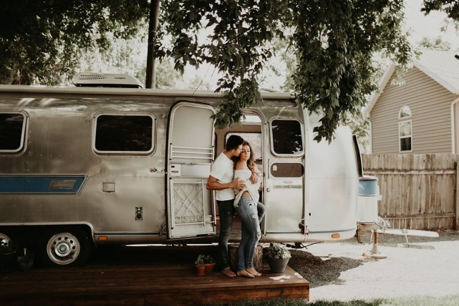 Airstream Engagement Shoot