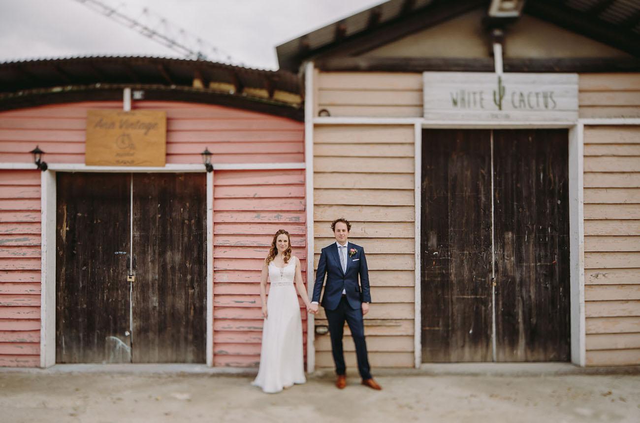 Antique Market Wedding
