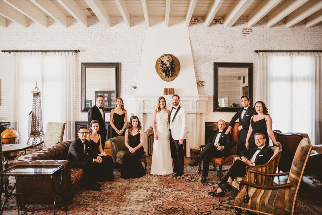 Modern Romantic Ebell Wedding
