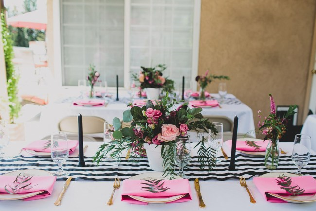 in love with iridescent a kate spade inspired bridal shower