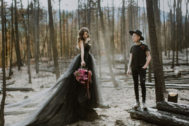 Modern Witch Elopement
