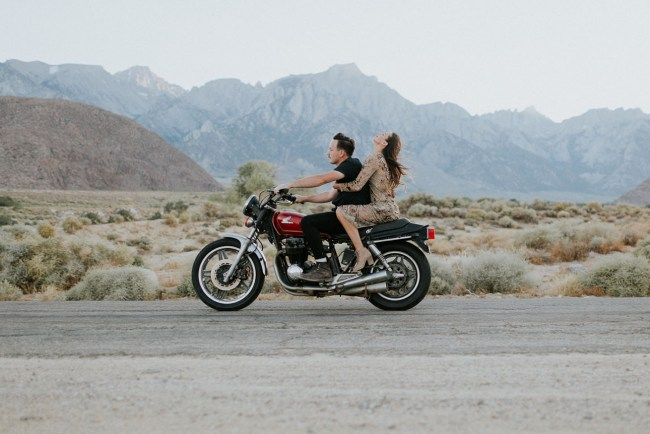 Motorcycle Anniversary Session
