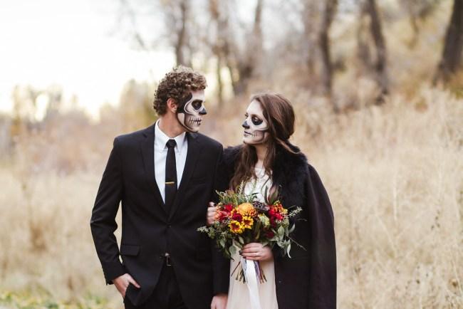 Skeleton Bridal Portraits