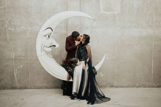 Tim Burton Inspired Wedding