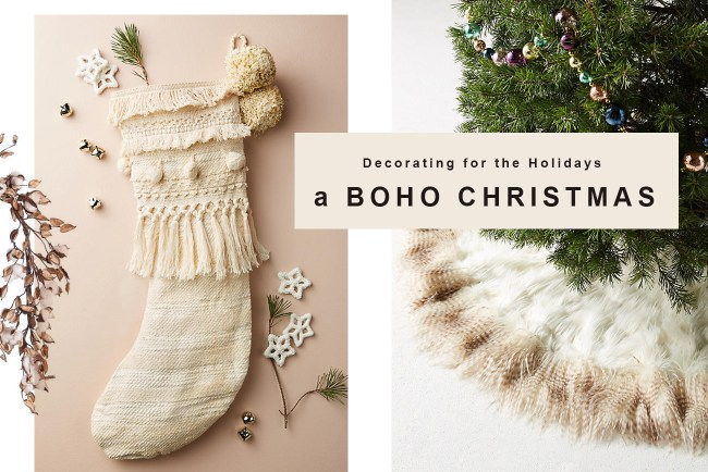 How to Decorate Your Home for a Boho Christmas