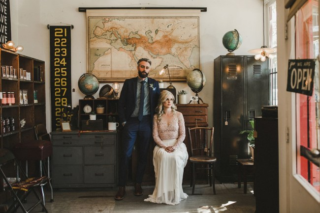 Canadian Woodshop Wedding