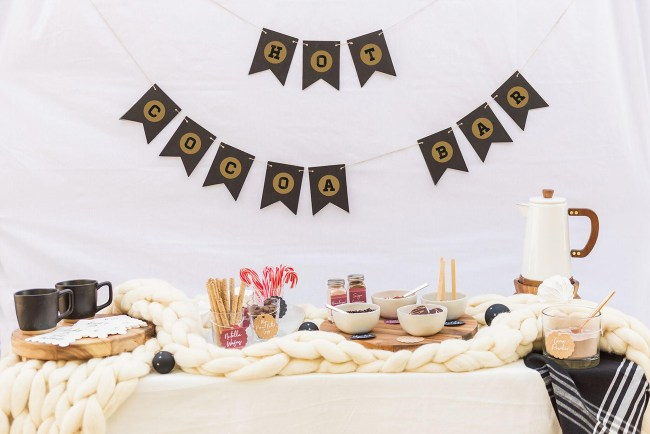 Hot Cocoa Bar DIY