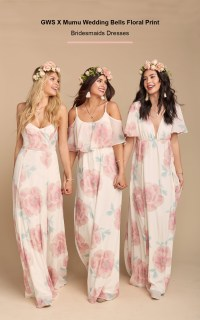 Introducing the GWSxMumu Wedding Bells Floral Bridesmaids ...