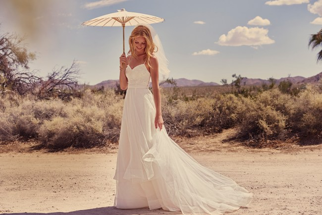 David's Bridal Galina Spring 2018