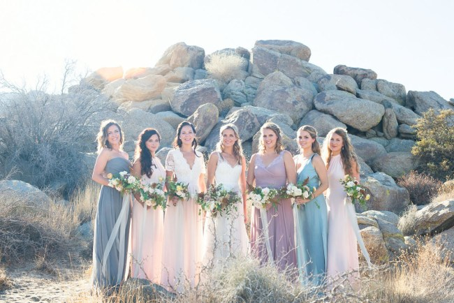 d26d218bf7 A Pastel Palm Springs Wedding to Crown them All