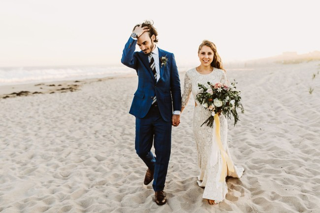 Hamptons Hipster Wedding