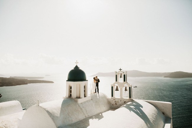 Adventurous Wedding Weekend in Santorini