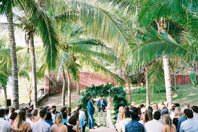 Modern Mexico Destination Wedding