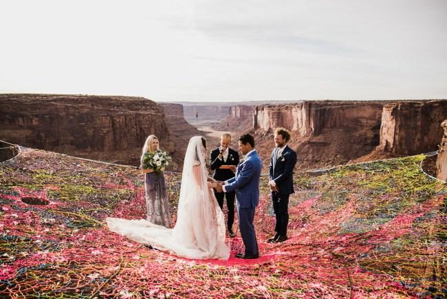 Spacenet Wedding Moab Utah