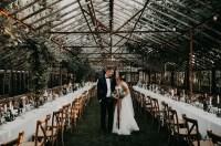 DIY Rustic + Romantic Backyard Wedding in a Greenhouse ...