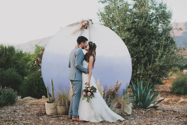 Boho Ojai Ranch Wedding