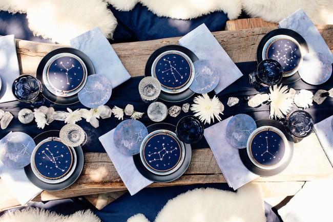 Owl Constellation Bridal Shower