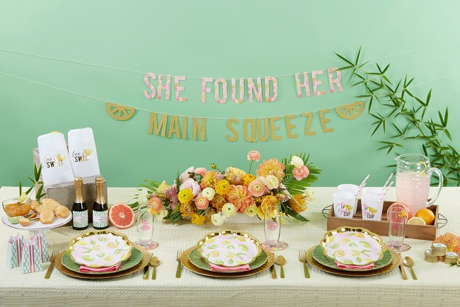 A Cheery & Chic bridal shower with Kate Aspen