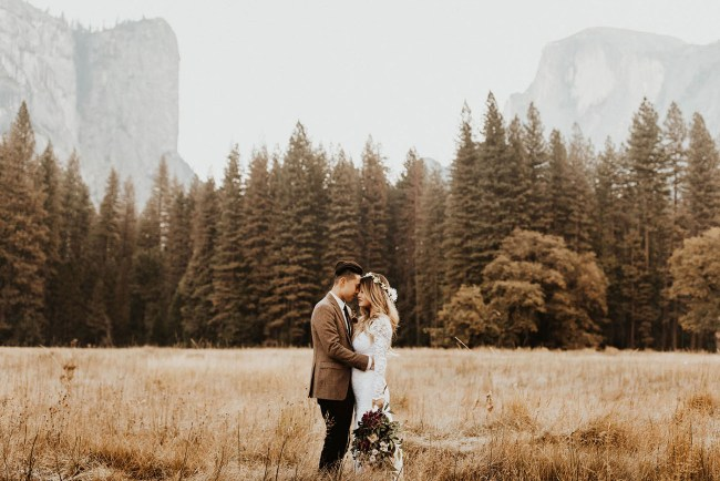 Sunrise Yosemite Elopement