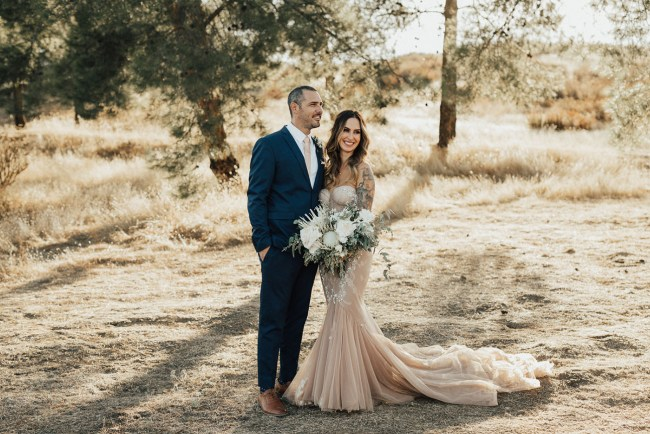 Temecula Hills Blush Wedding