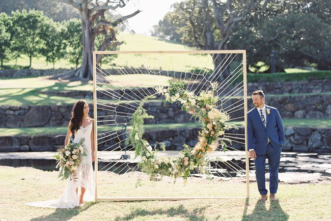 Intimate Australian Wedding