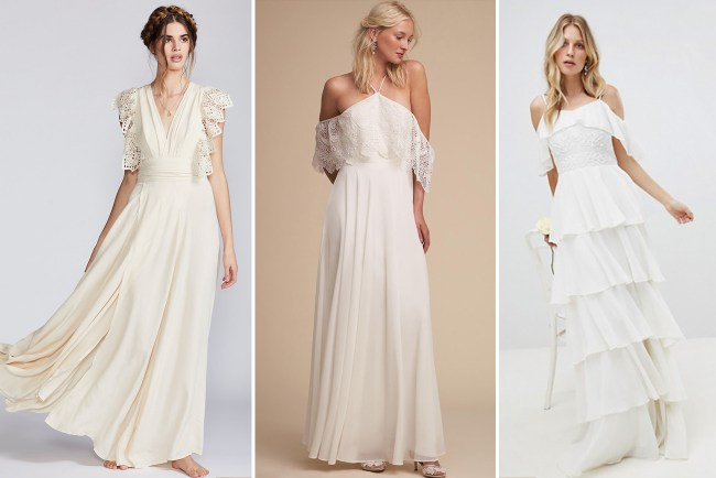 Our Fave Wedding Dresses under $500