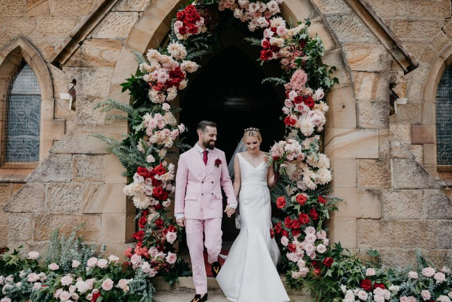 Romeo and Juliet Inspired Wedding