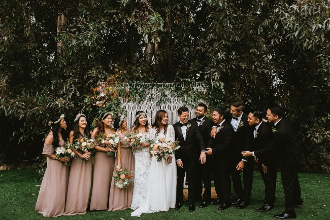 Boho San Diego Wedding