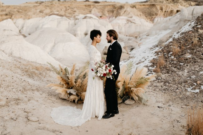 Colorado Desert Wedding Inspiration