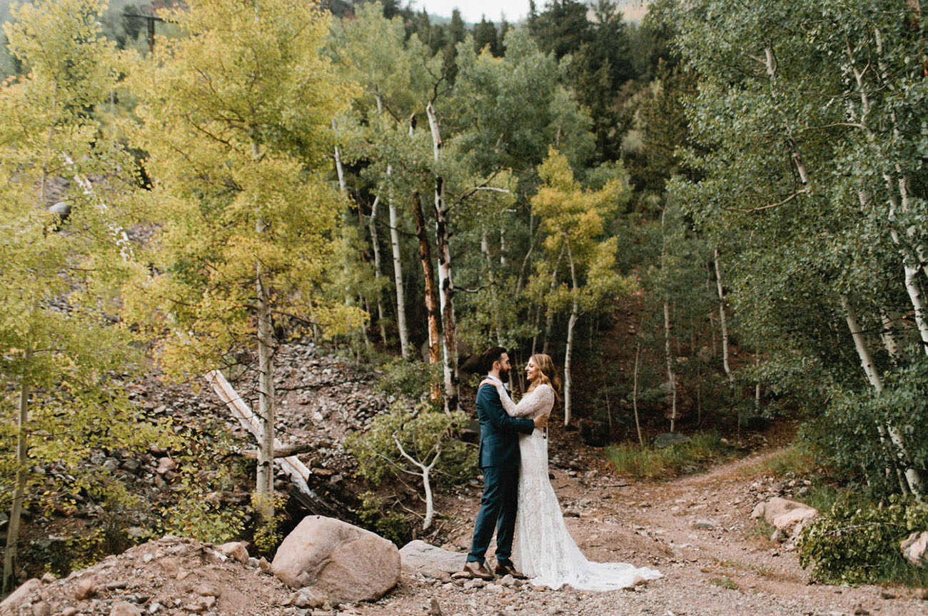 Intimate Colorado Wedding