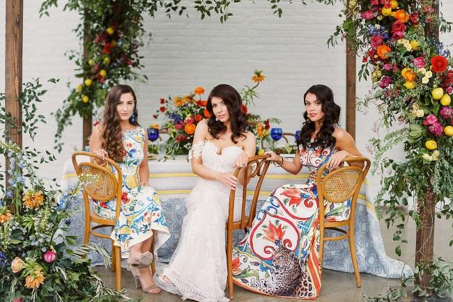 Colorful Southern Italian Wedding