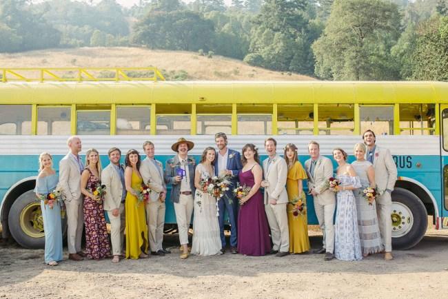 Mendocino Hippie Wedding